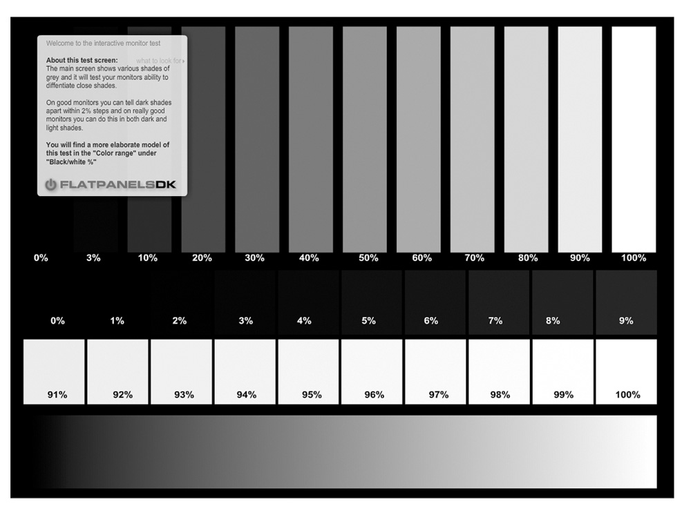 interactive monitor test Meu mudinho